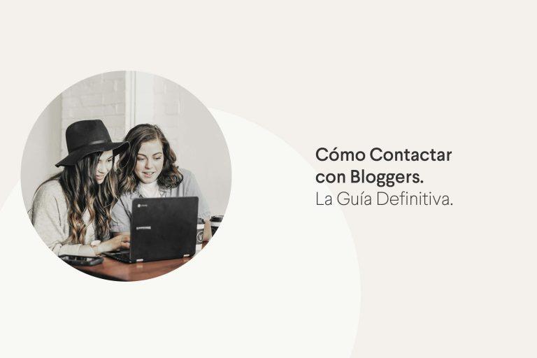 Contactar con Bloggers