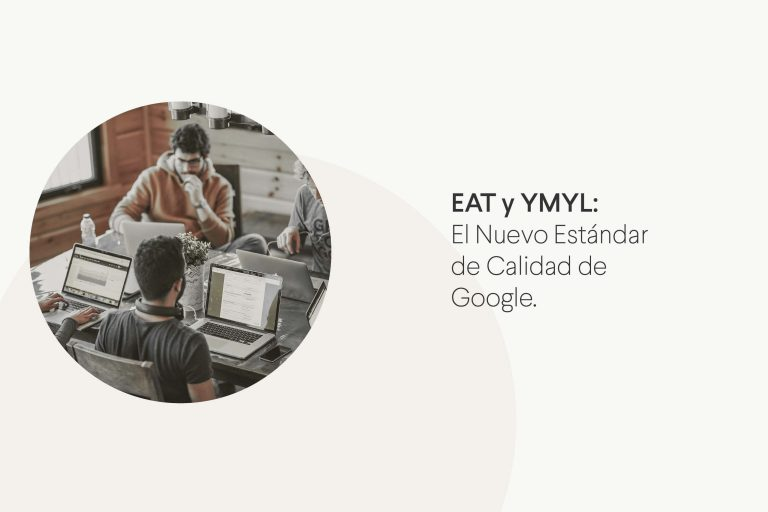 Métodos EAT y YMLY de calidad de Google