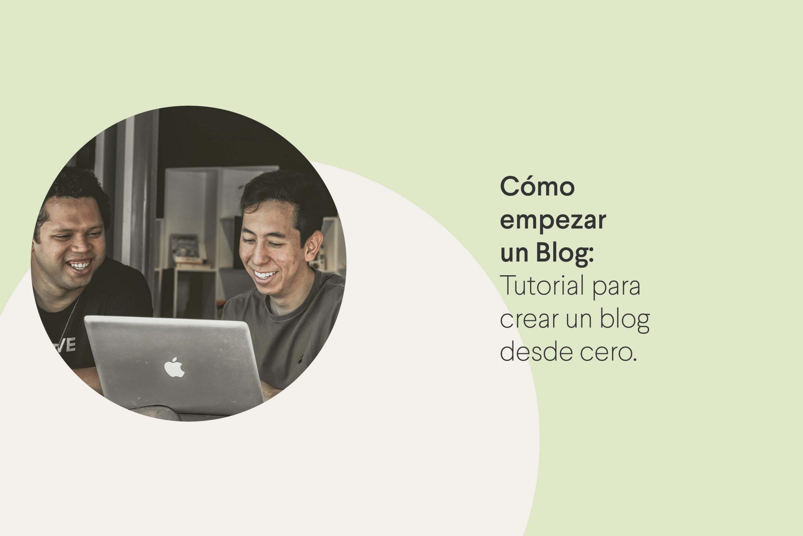 cómo crear un blog desde cero