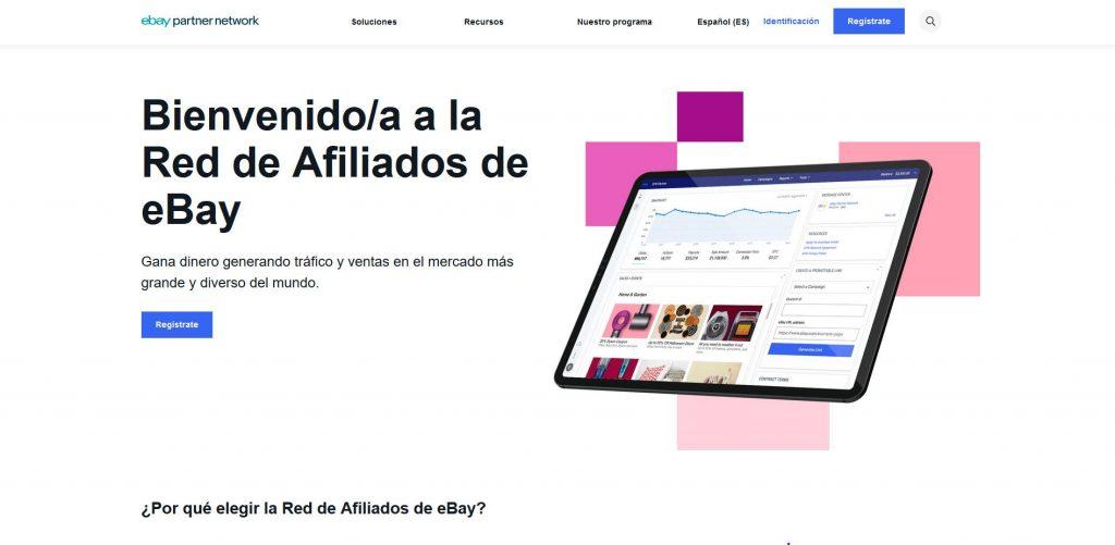 pagina principal partners ebay