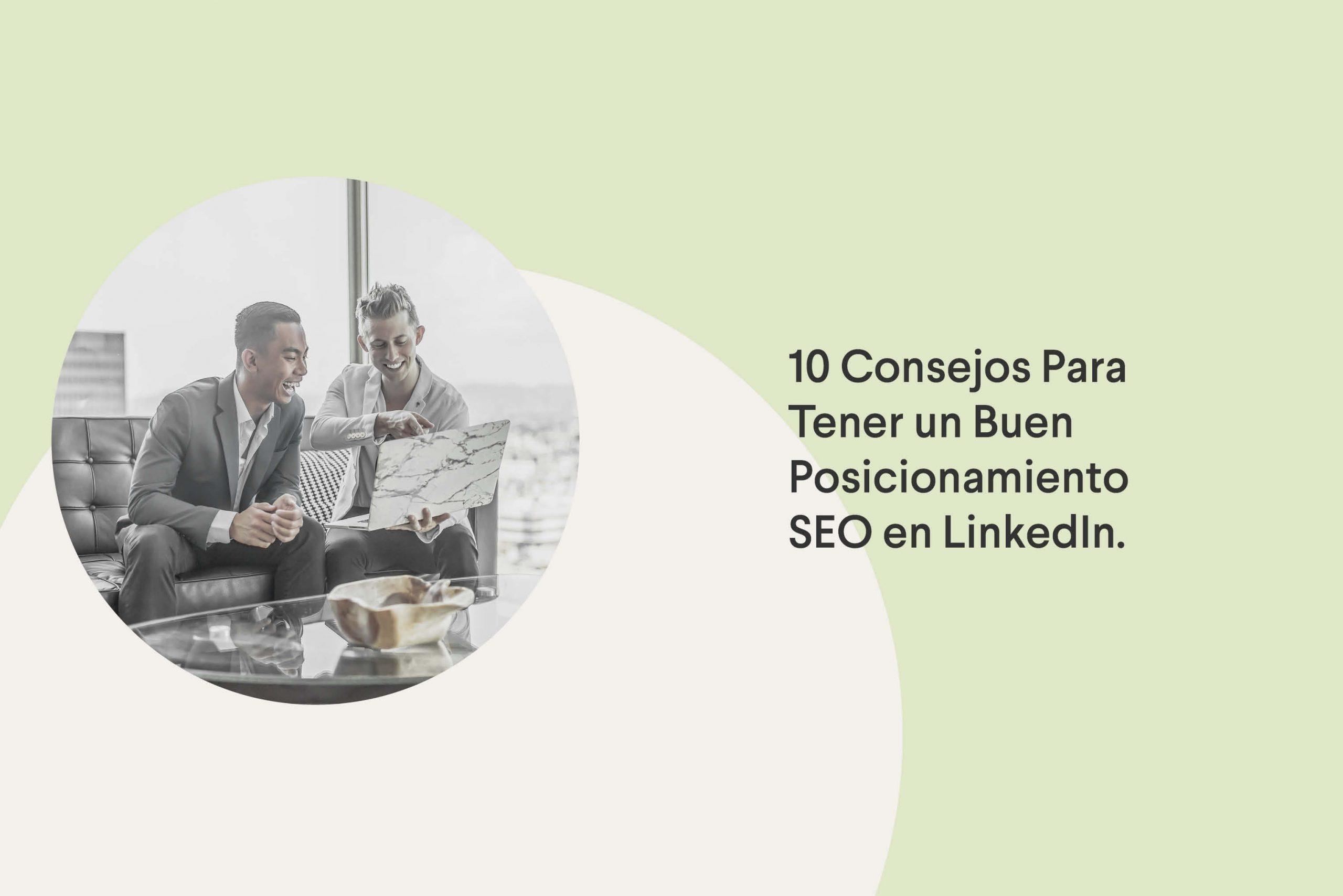 consejos para el posicionamiento SEO en LinkedIn