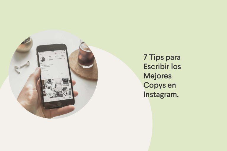 Tips para escribir buenos copys en Instagram