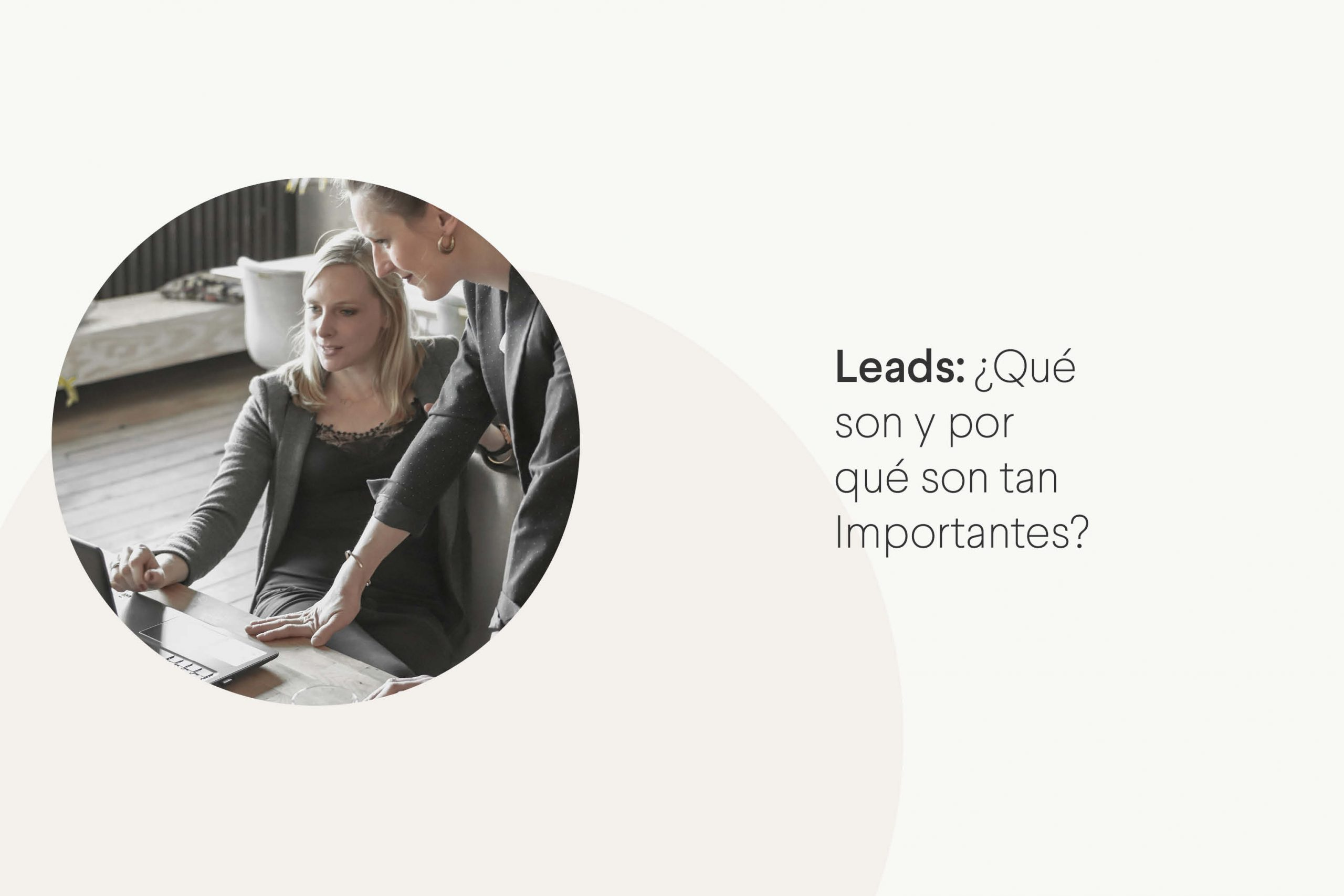 Información básica sobre leads