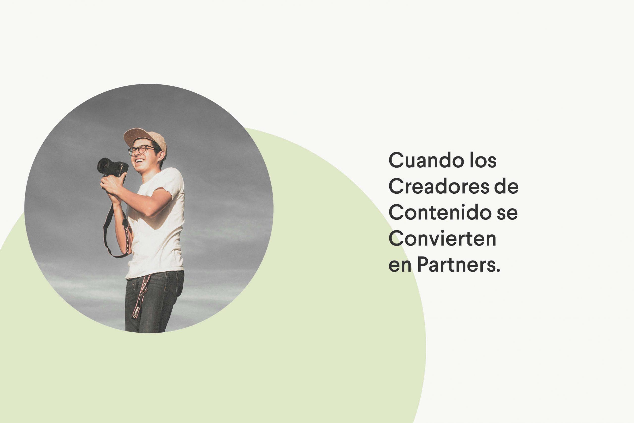 Creadores de contenido pasan a ser Partners en un programa de Afiliados